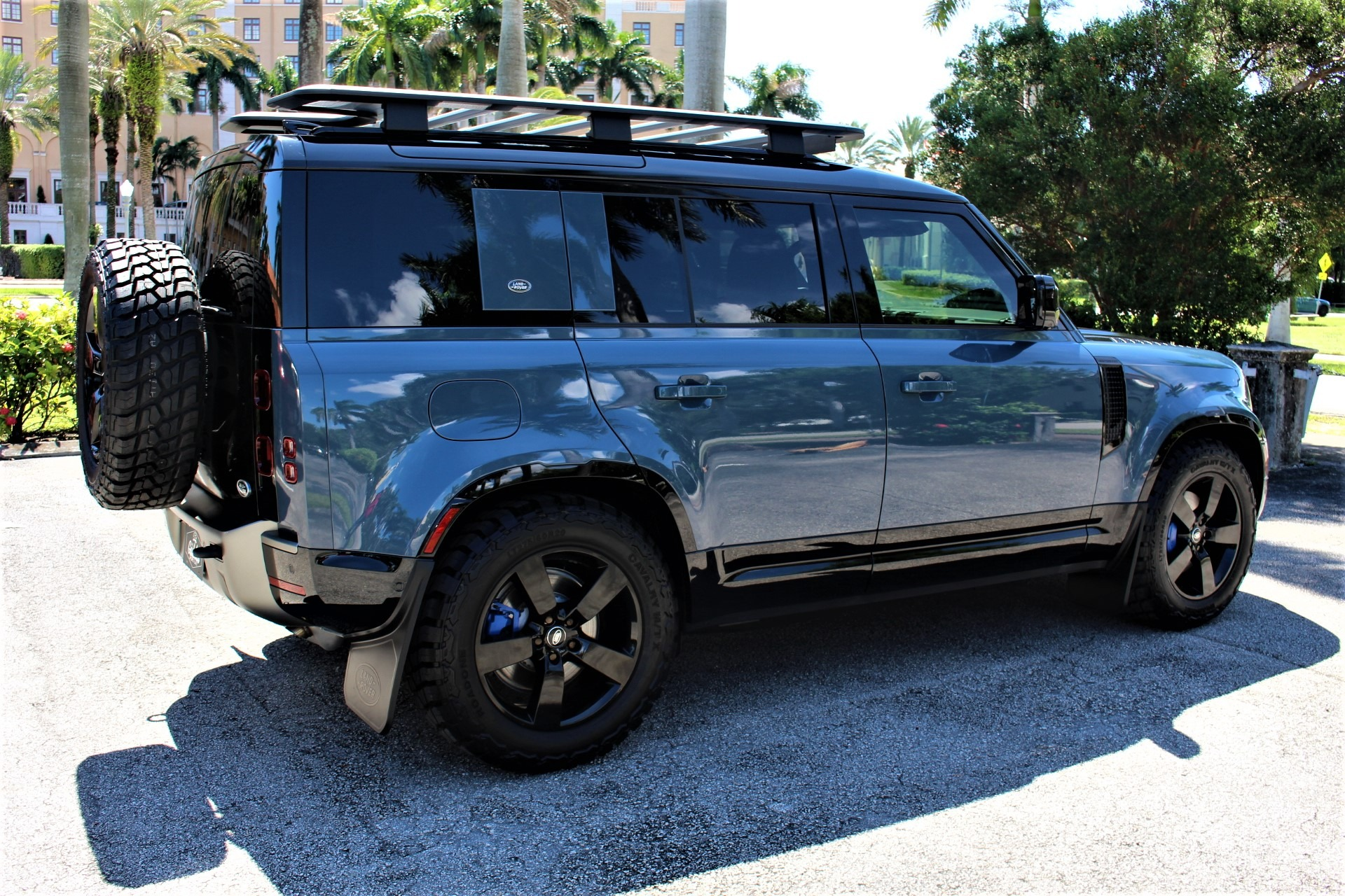 New 2021 Land Rover Defender 110 X-Dynamic SE for sale $96,850 at The Gables Sports Cars in Miami FL 33146 4