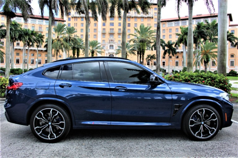 Used 2020 BMW X4 M Competition for sale $73,850 at The Gables Sports Cars in Miami FL