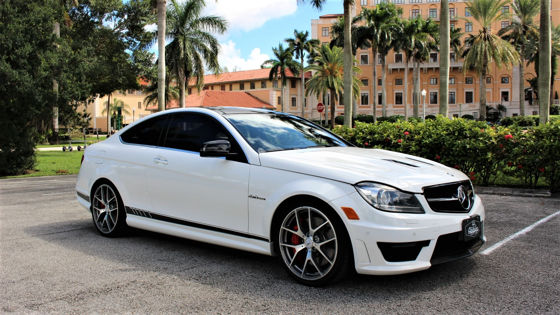 Used 2015 Mercedes-Benz C-Class C 63 AMG 507 Edition for sale $52,850 at The Gables Sports Cars in Miami FL 33146 2
