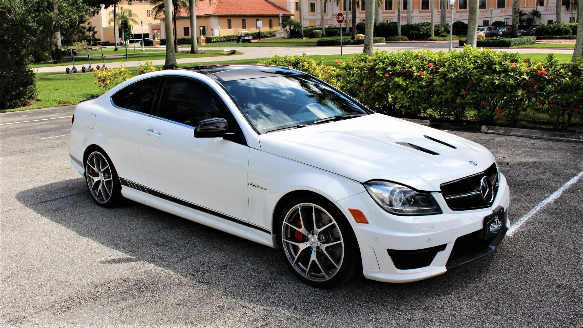 Used 2015 Mercedes-Benz C-Class C 63 AMG 507 Edition for sale $52,850 at The Gables Sports Cars in Miami FL 33146 3