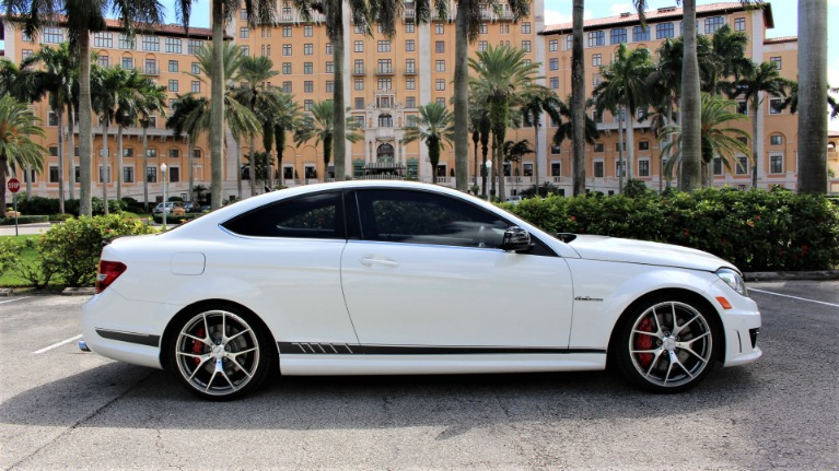 Used 2015 Mercedes-Benz C-Class C 63 AMG 507 Edition for sale $52,850 at The Gables Sports Cars in Miami FL