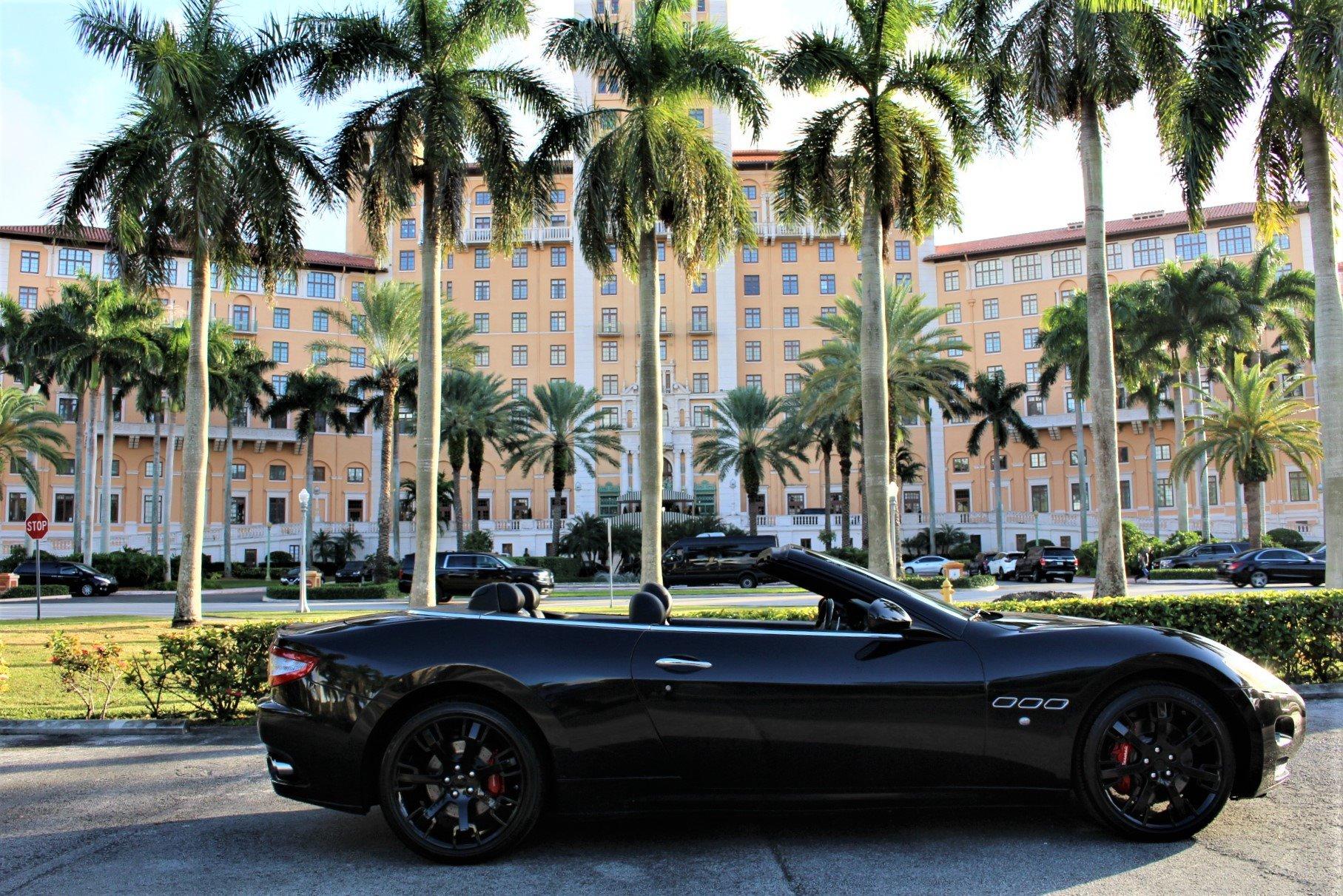Used 2011 Maserati GranTurismo for sale Sold at The Gables Sports Cars in Miami FL 33146 1