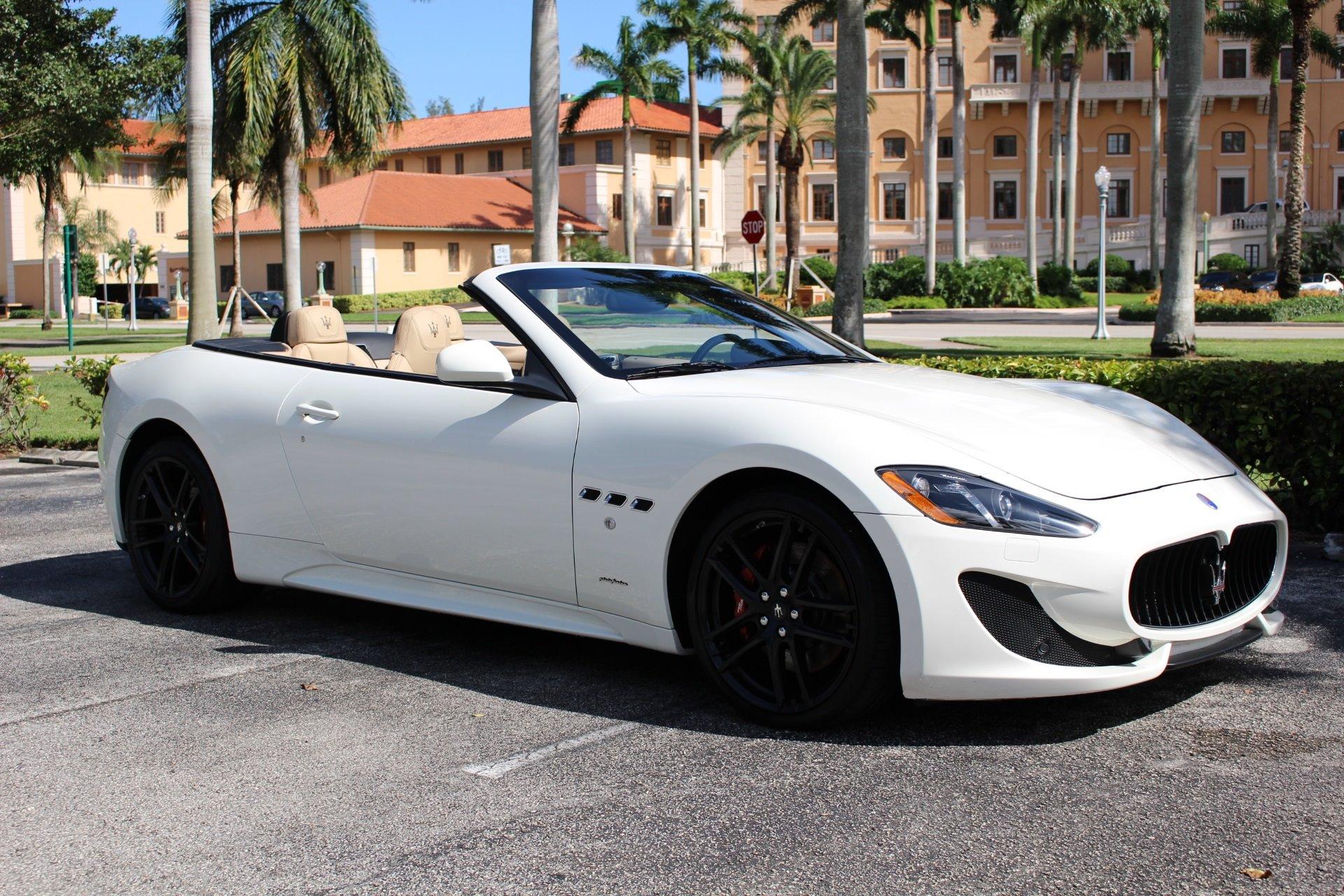 Used 2015 Maserati GranTurismo MC Centennial for sale Sold at The Gables Sports Cars in Miami FL 33146 4