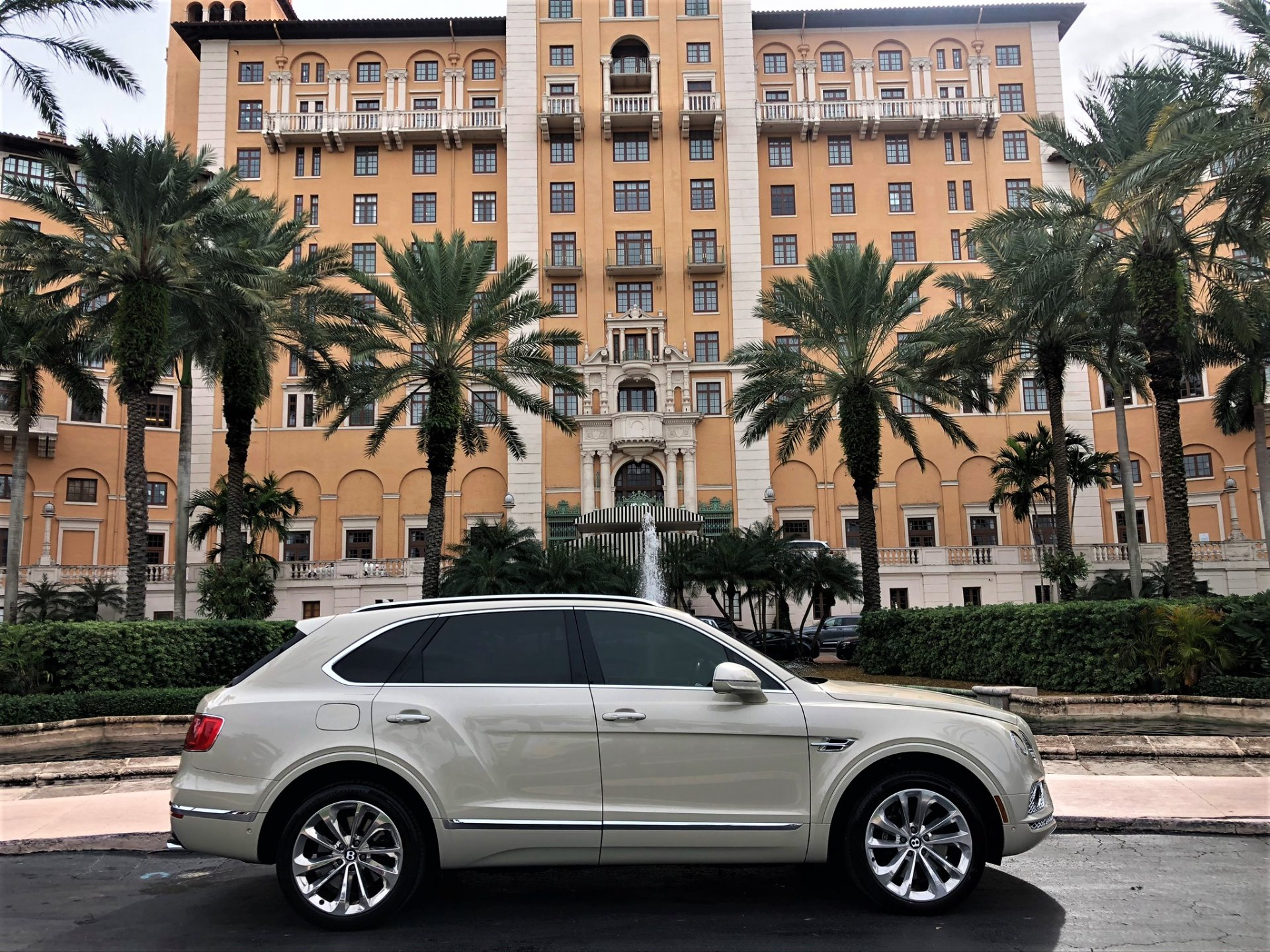 Used 2017 Bentley Bentayga W12 for sale $144,850 at The Gables Sports Cars in Miami FL 33146 1
