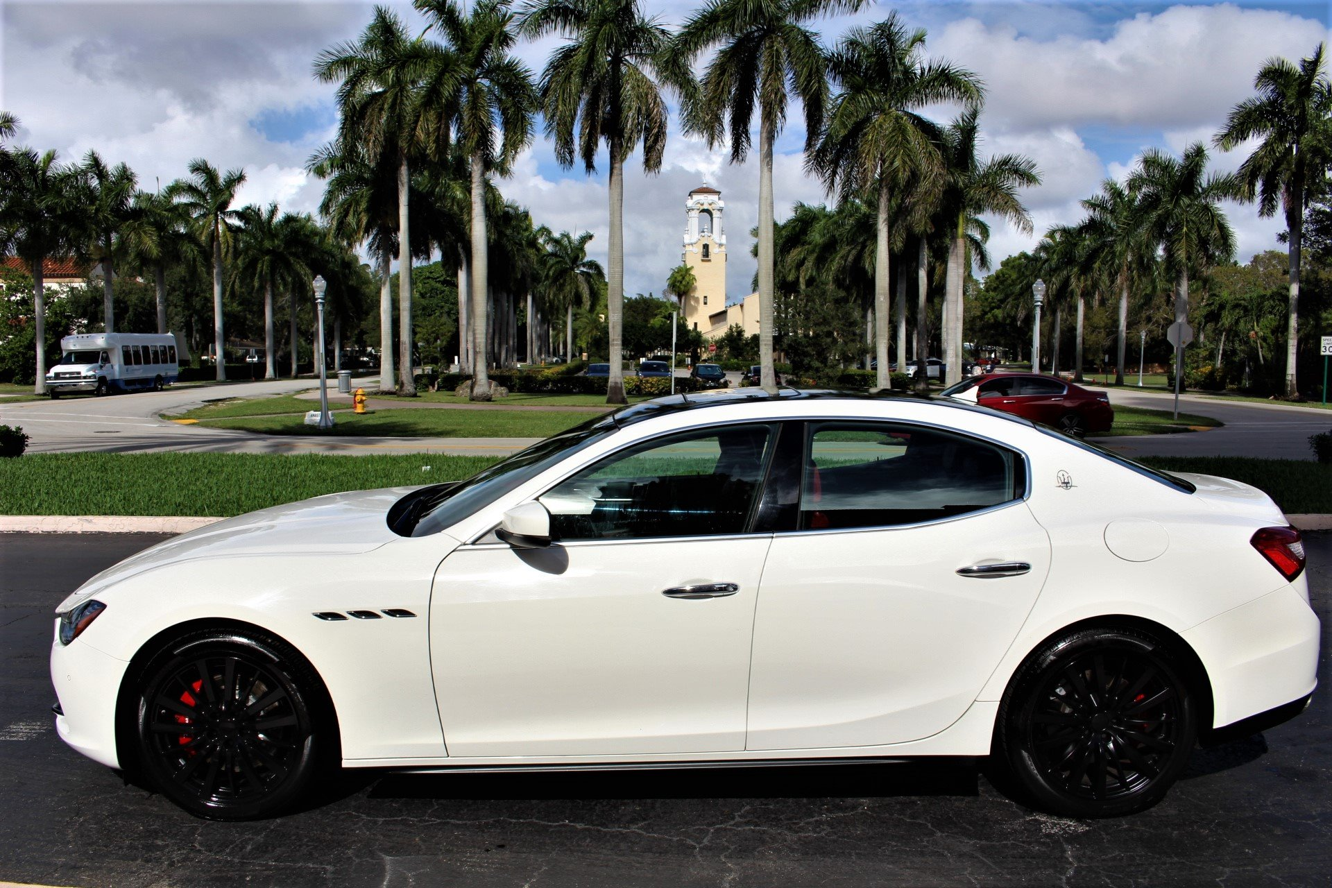 Used 2017 Maserati Ghibli SQ4 AWD S Q4 for sale $39,850 at The Gables Sports Cars in Miami FL 33146 4