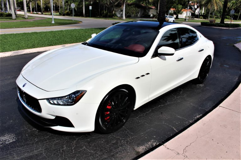 Used 2017 Maserati Ghibli SQ4 AWD S Q4 for sale $39,850 at The Gables Sports Cars in Miami FL
