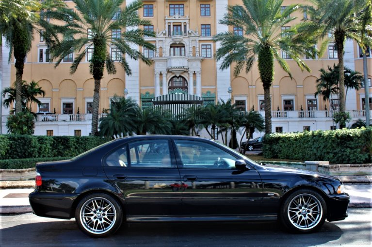 Used 2000 BMW M5 for sale $36,850 at The Gables Sports Cars in Miami FL