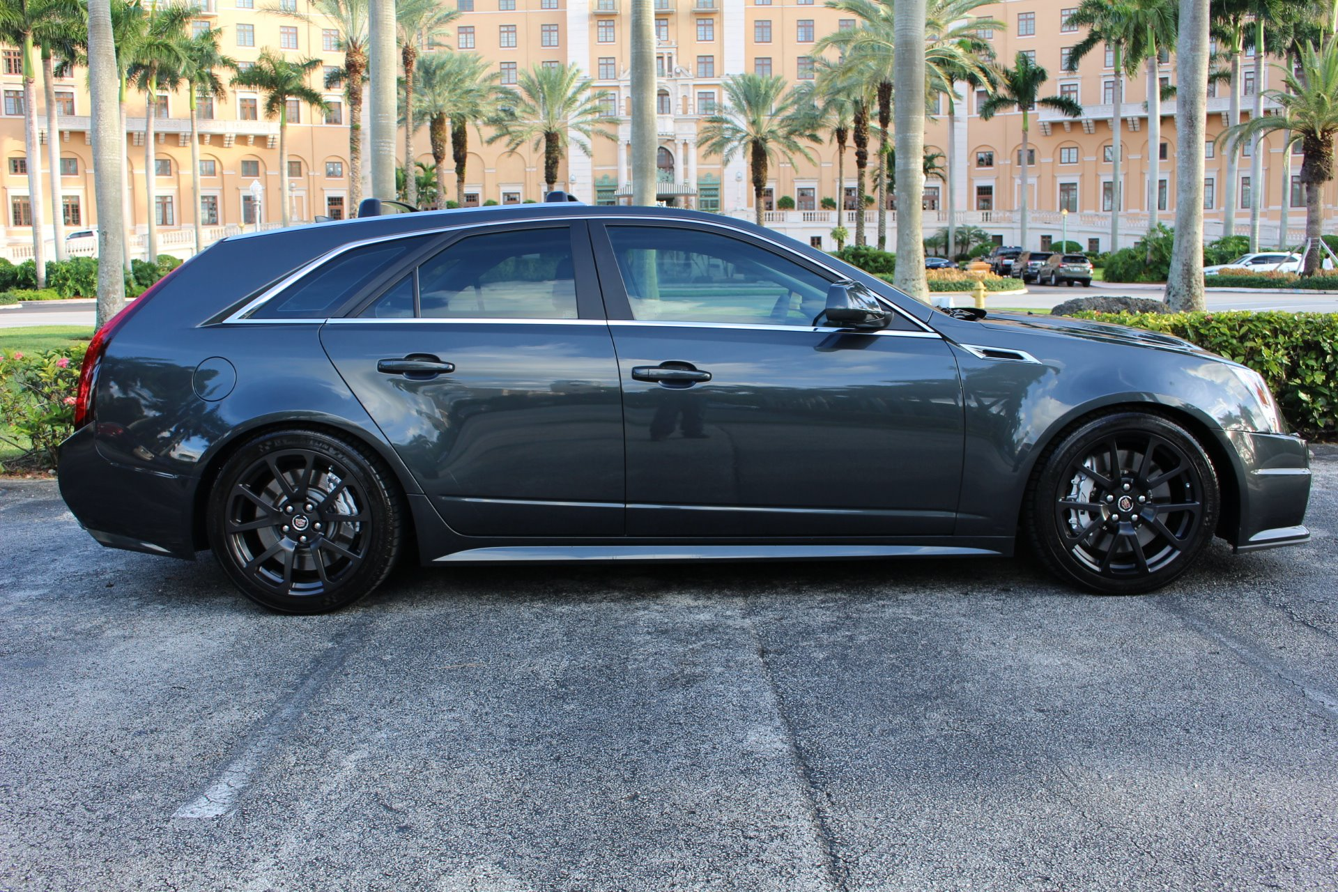 Used 2014 Cadillac CTS-V for sale Sold at The Gables Sports Cars in Miami FL 33146 2