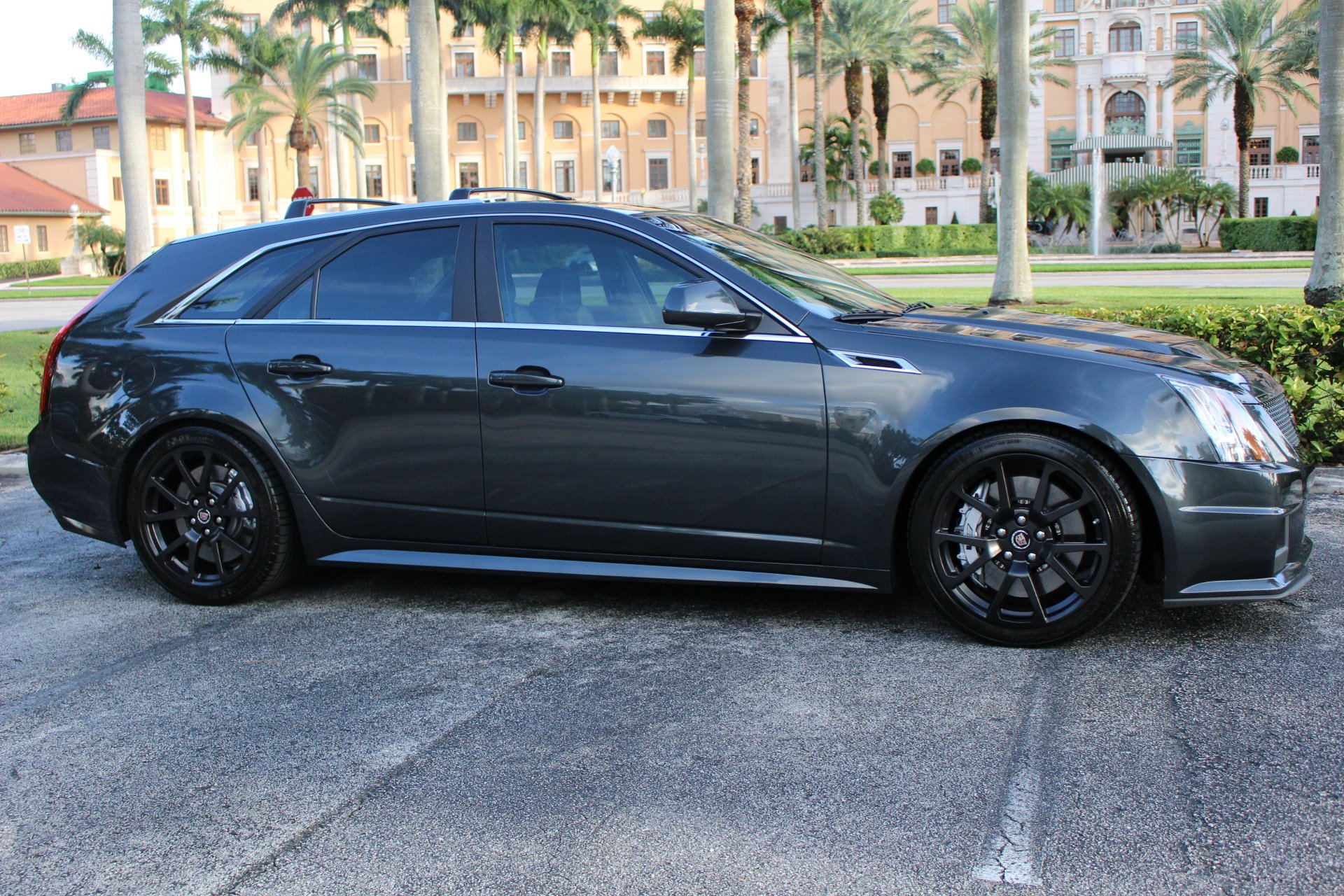 Used 2014 Cadillac CTS-V for sale Sold at The Gables Sports Cars in Miami FL 33146 3