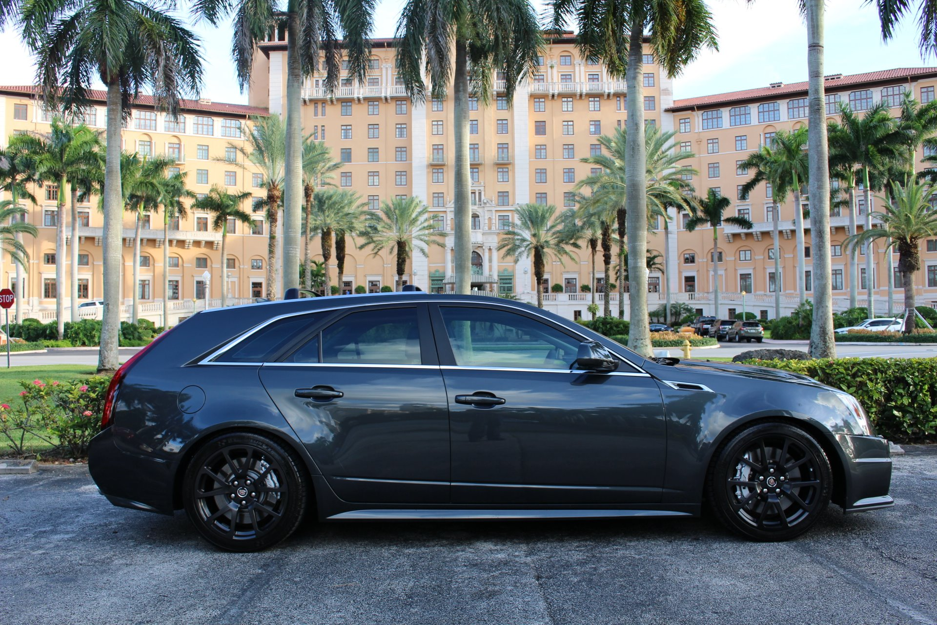 Used 2014 Cadillac CTS-V for sale Sold at The Gables Sports Cars in Miami FL 33146 1