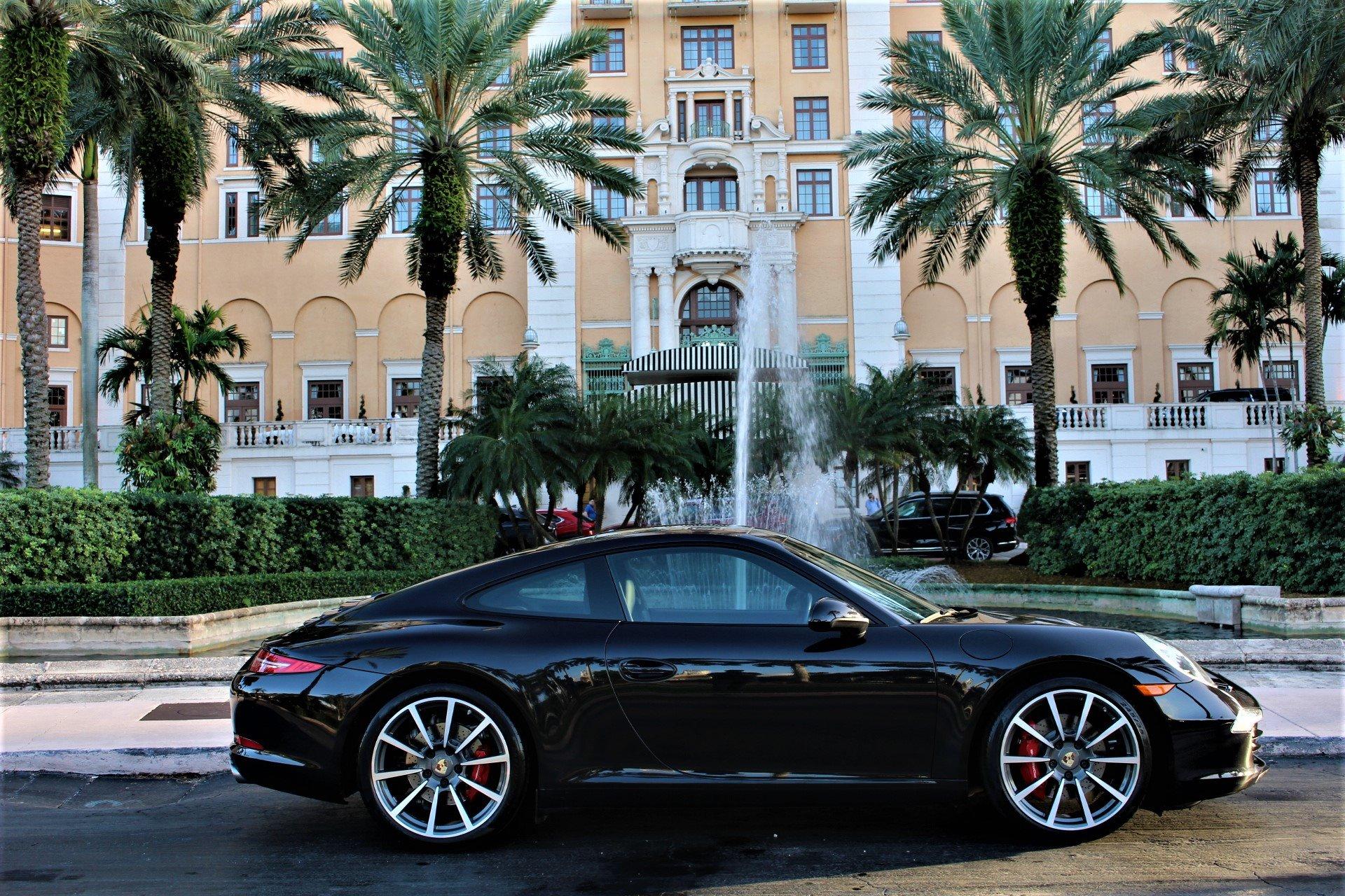 Used 2013 Porsche 911 Carrera S for sale $59,850 at The Gables Sports Cars in Miami FL 33146 1