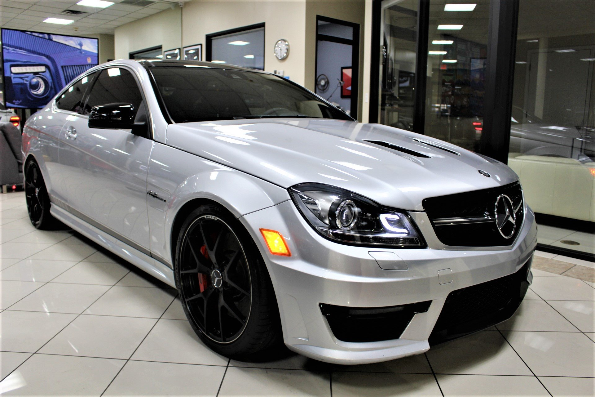 Used 2015 Mercedes-Benz C-Class C 63 AMG Edition 507 for sale $39,850 at The Gables Sports Cars in Miami FL 33146 2