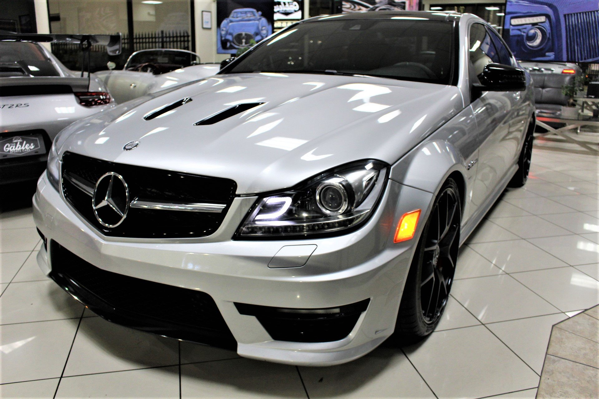 Used 2015 Mercedes-Benz C-Class C 63 AMG Edition 507 for sale $39,850 at The Gables Sports Cars in Miami FL 33146 3