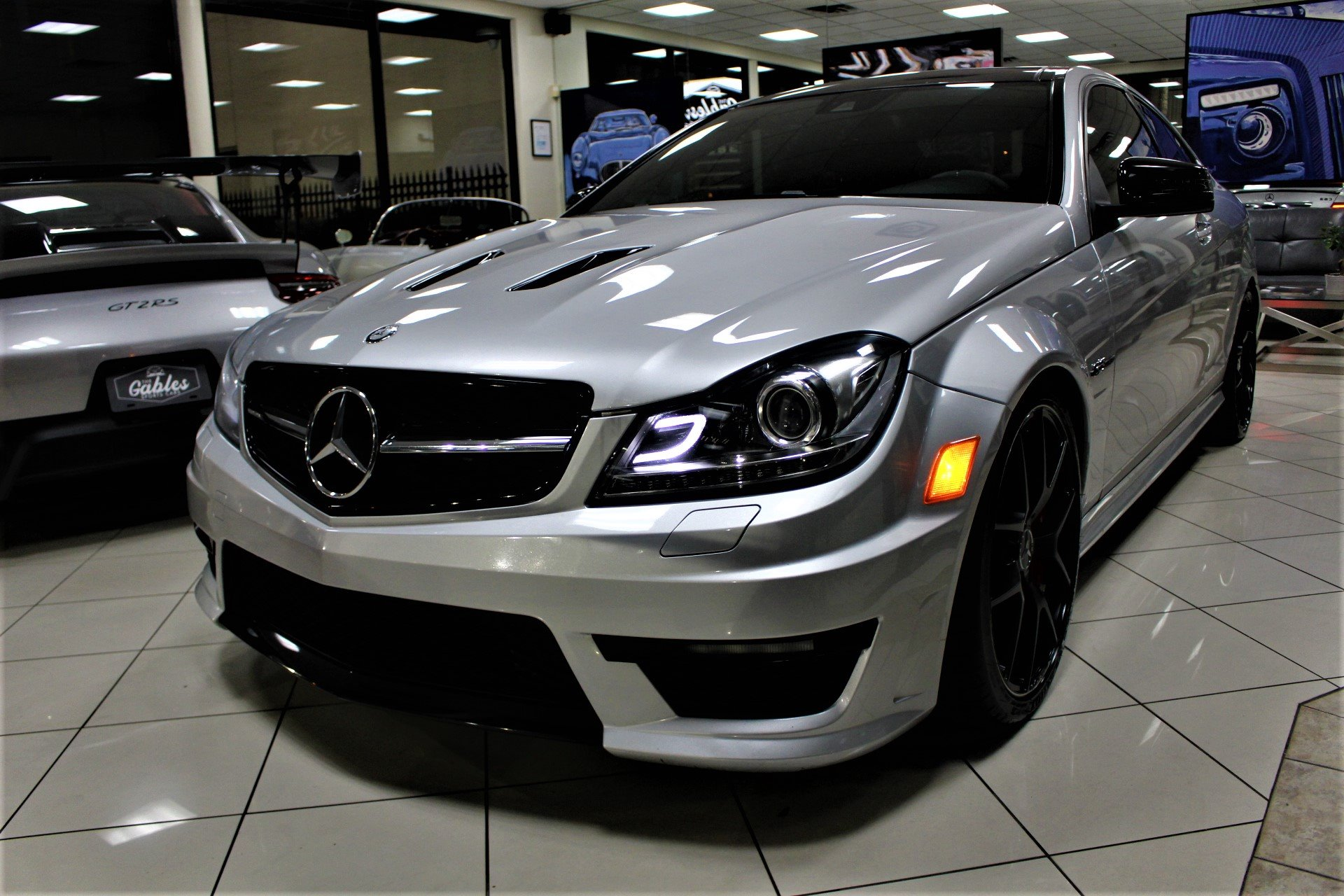 Used 2015 Mercedes-Benz C-Class C 63 AMG Edition 507 for sale $39,850 at The Gables Sports Cars in Miami FL 33146 4