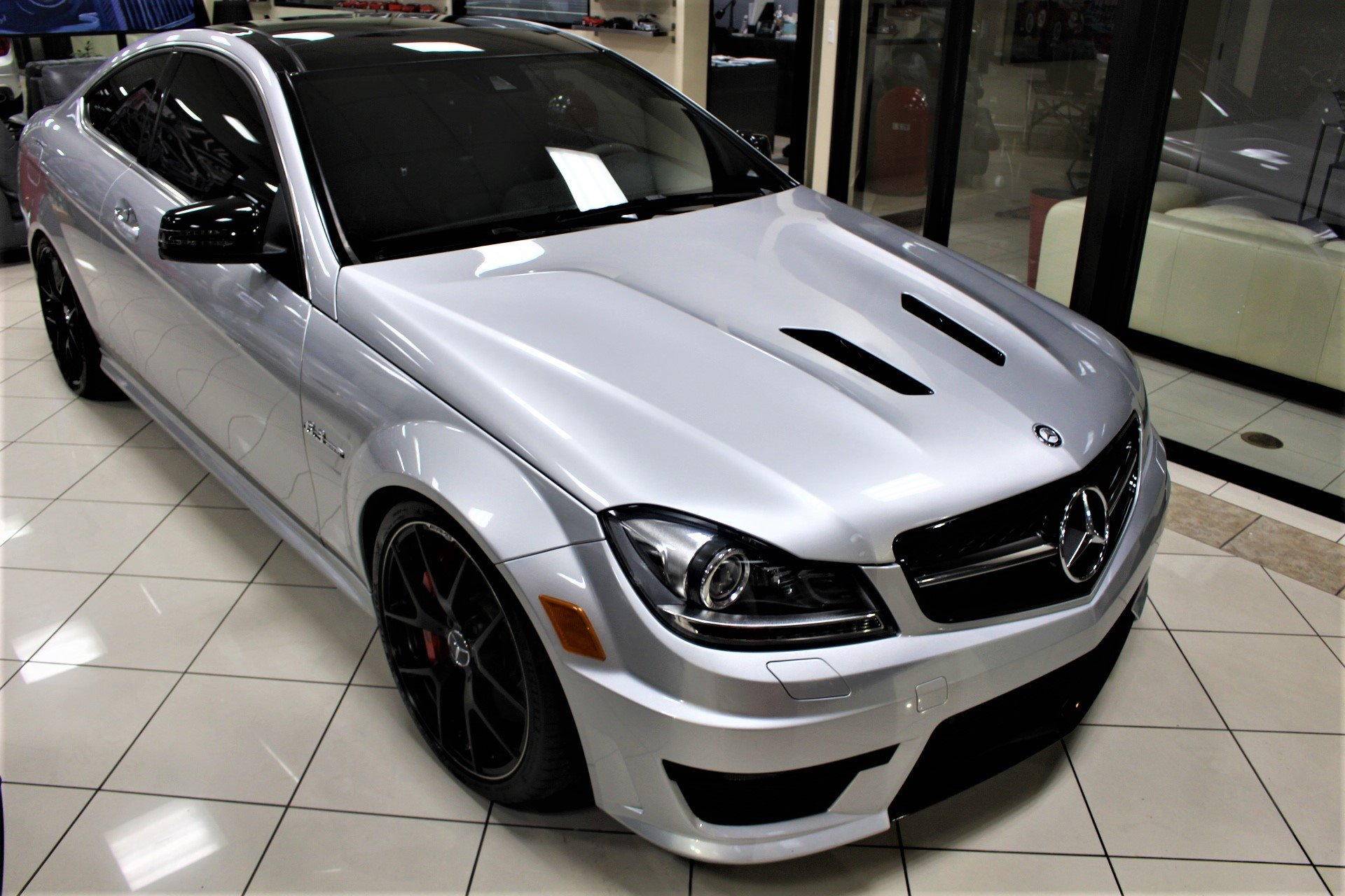 Used 2015 Mercedes-Benz C-Class C 63 AMG Edition 507 for sale $39,850 at The Gables Sports Cars in Miami FL 33146 1