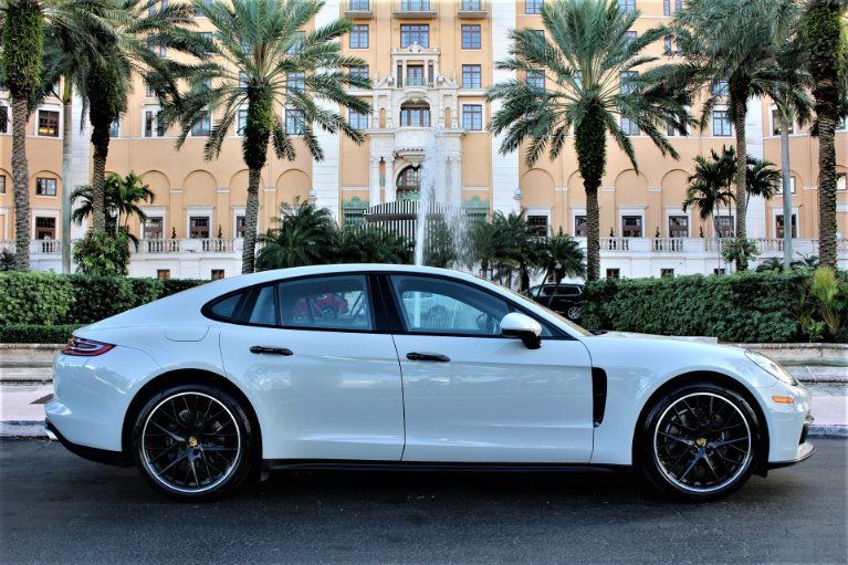 Used 2017 Porsche Panamera for sale $69,850 at The Gables Sports Cars in Miami FL