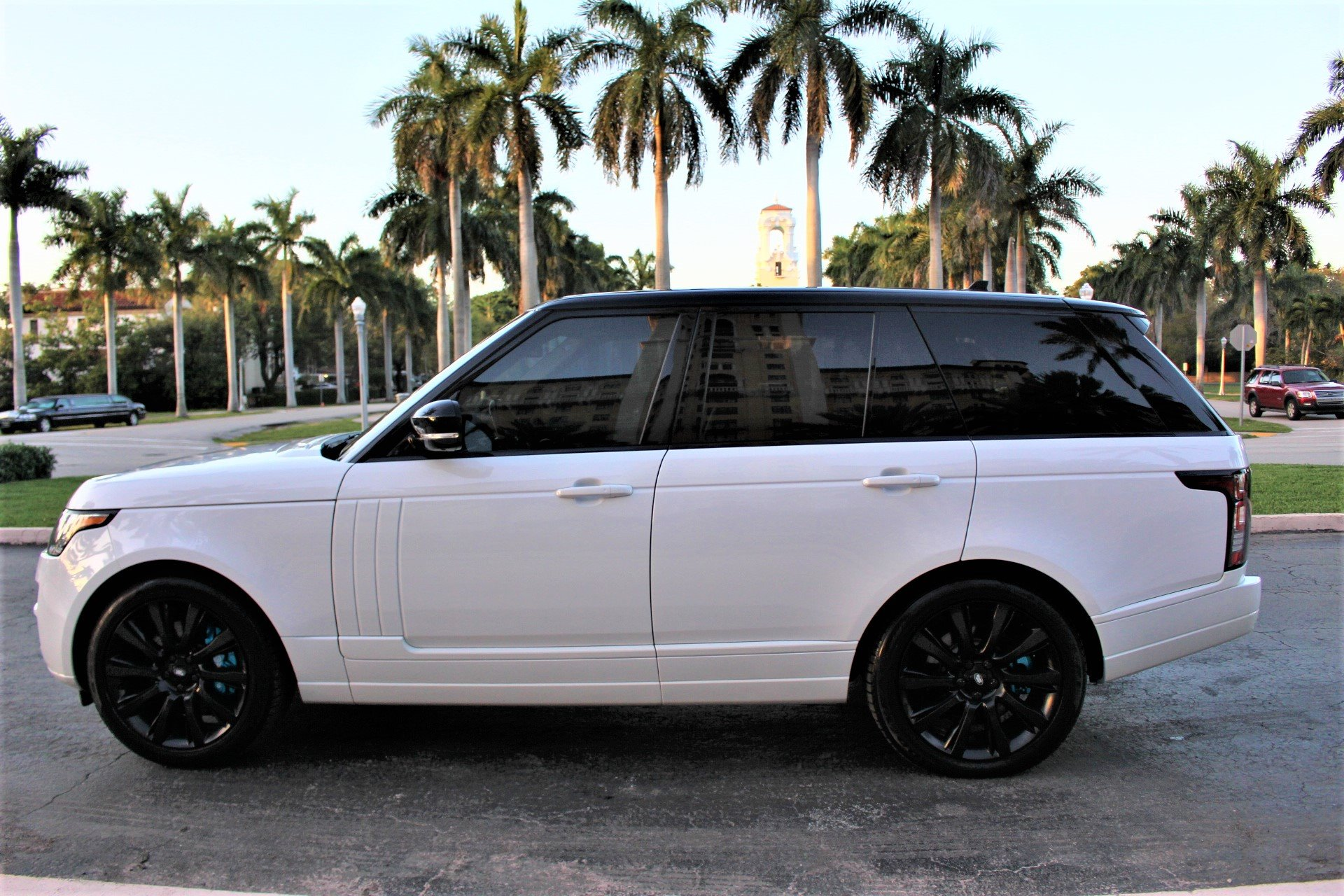Used 2016 Land Rover Range Rover Supercharged for sale $53,850 at The Gables Sports Cars in Miami FL 33146 4