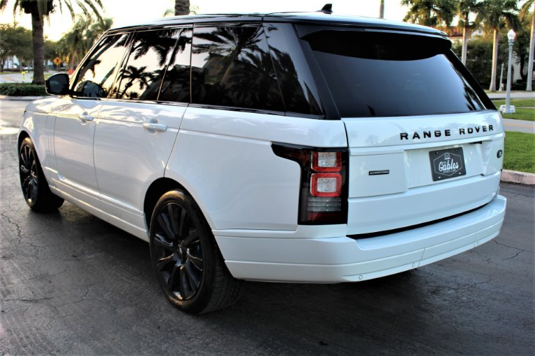Used 2016 Land Rover Range Rover Supercharged for sale $65,850 at The Gables Sports Cars in Miami FL
