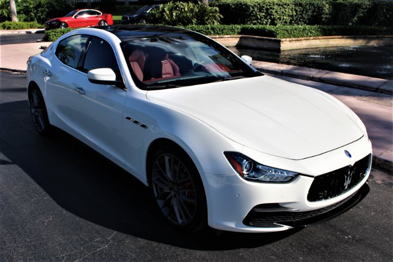 Used 2017 Maserati Ghibli S S for sale $43,850 at The Gables Sports Cars in Miami FL