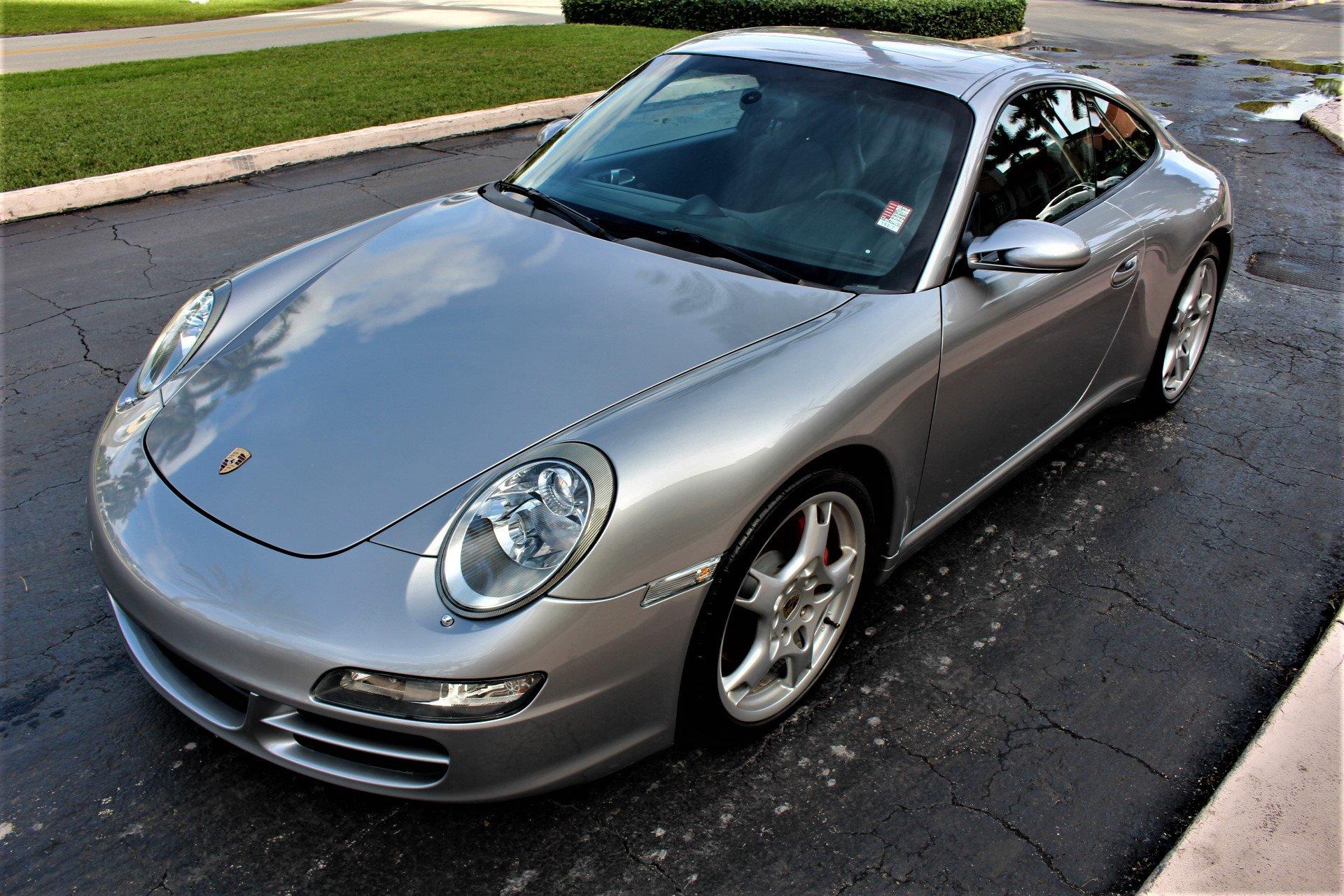 Used 2007 Porsche 911 Carrera S for sale $42,850 at The Gables Sports Cars in Miami FL 33146 4