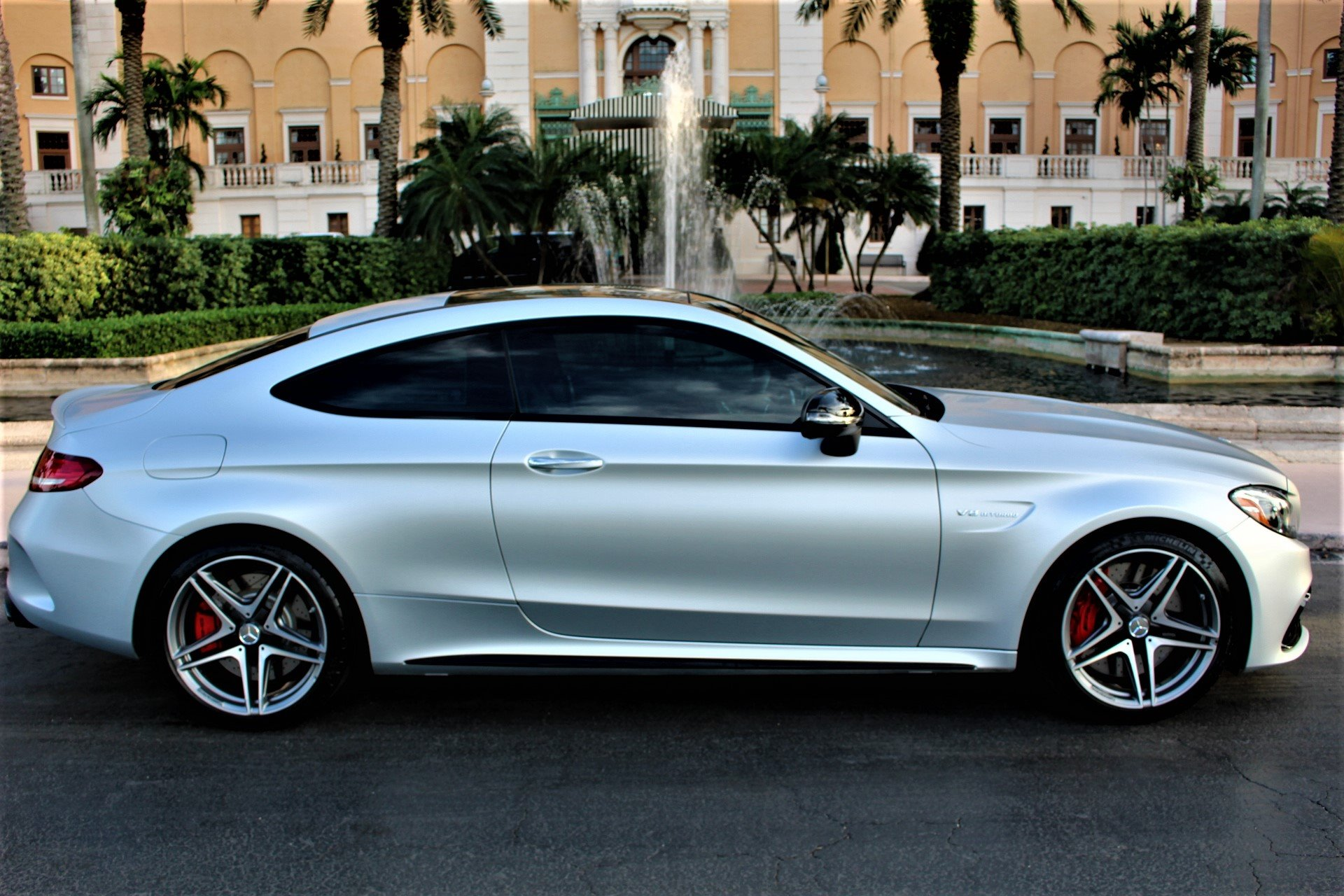 Used 2018 Mercedes-Benz C-Class AMG C 63 S for sale Sold at The Gables Sports Cars in Miami FL 33146 2