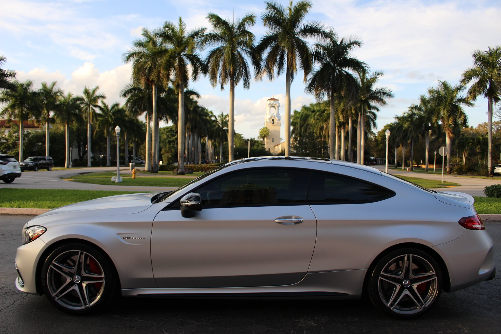 Used 2018 Mercedes-Benz C-Class AMG C 63 S for sale Sold at The Gables Sports Cars in Miami FL 33146 3