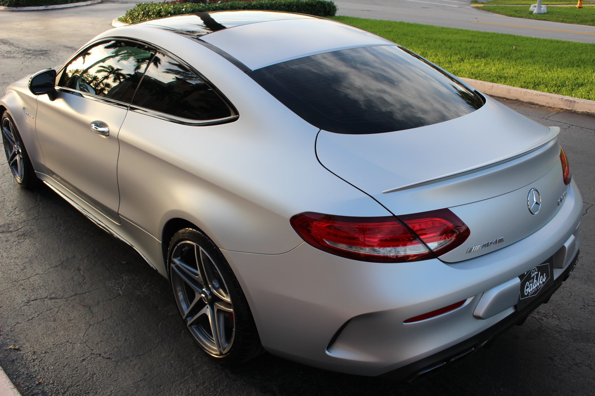 Used 2018 Mercedes-Benz C-Class AMG C 63 S for sale Sold at The Gables Sports Cars in Miami FL 33146 4