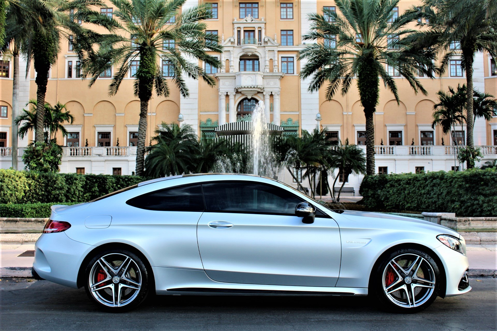 Used 2018 Mercedes-Benz C-Class AMG C 63 S for sale Sold at The Gables Sports Cars in Miami FL 33146 1