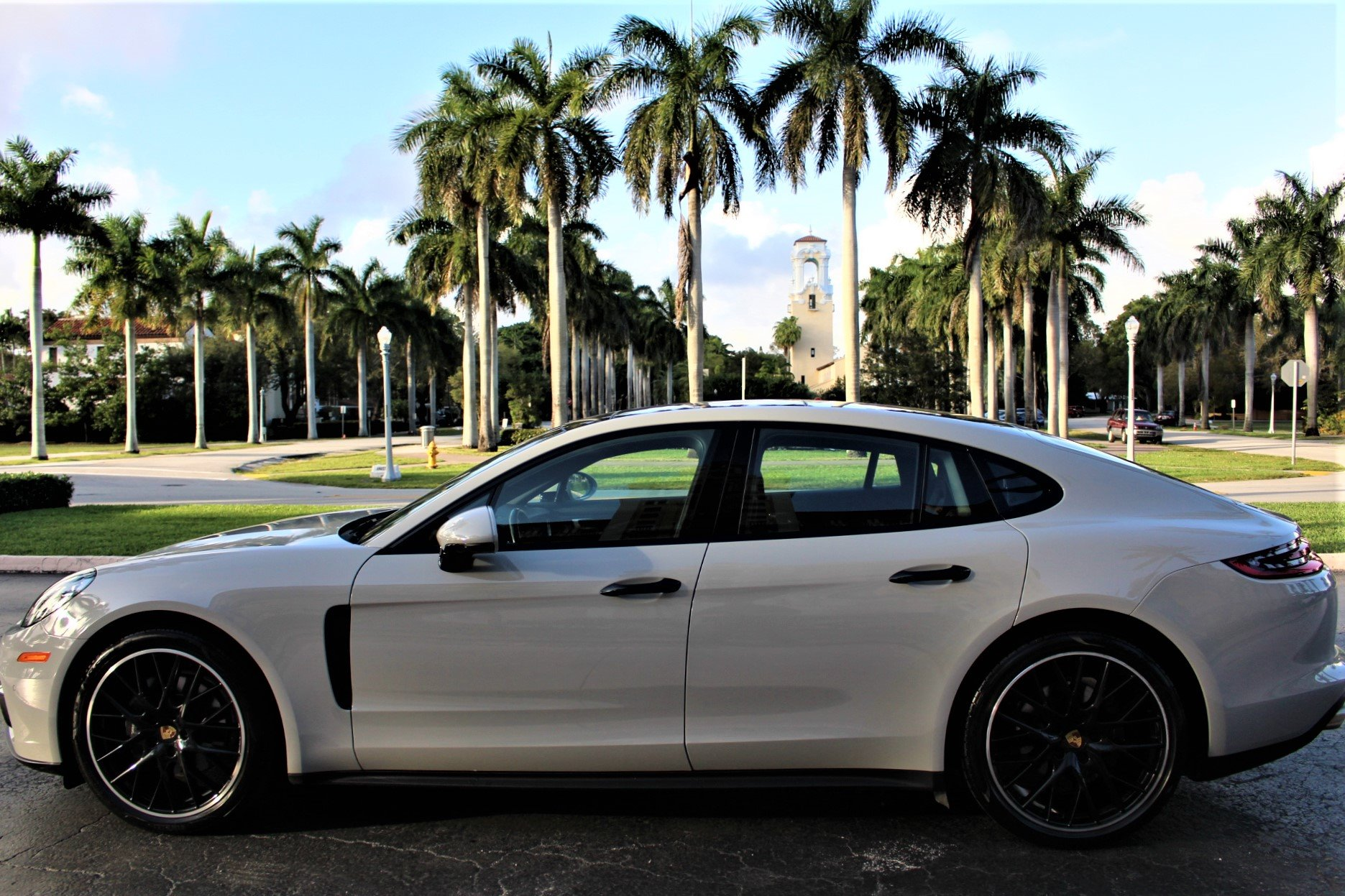 Used 2018 Porsche Panamera for sale $77,850 at The Gables Sports Cars in Miami FL 33146 1