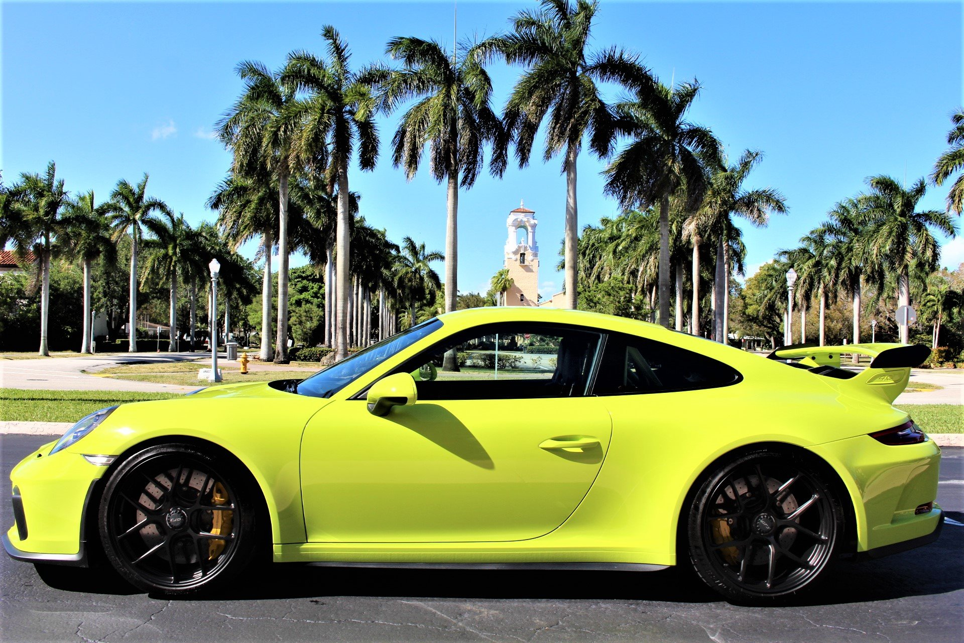 Used 2018 Porsche 911 GT3 for sale $169,850 at The Gables Sports Cars in Miami FL 33146 2