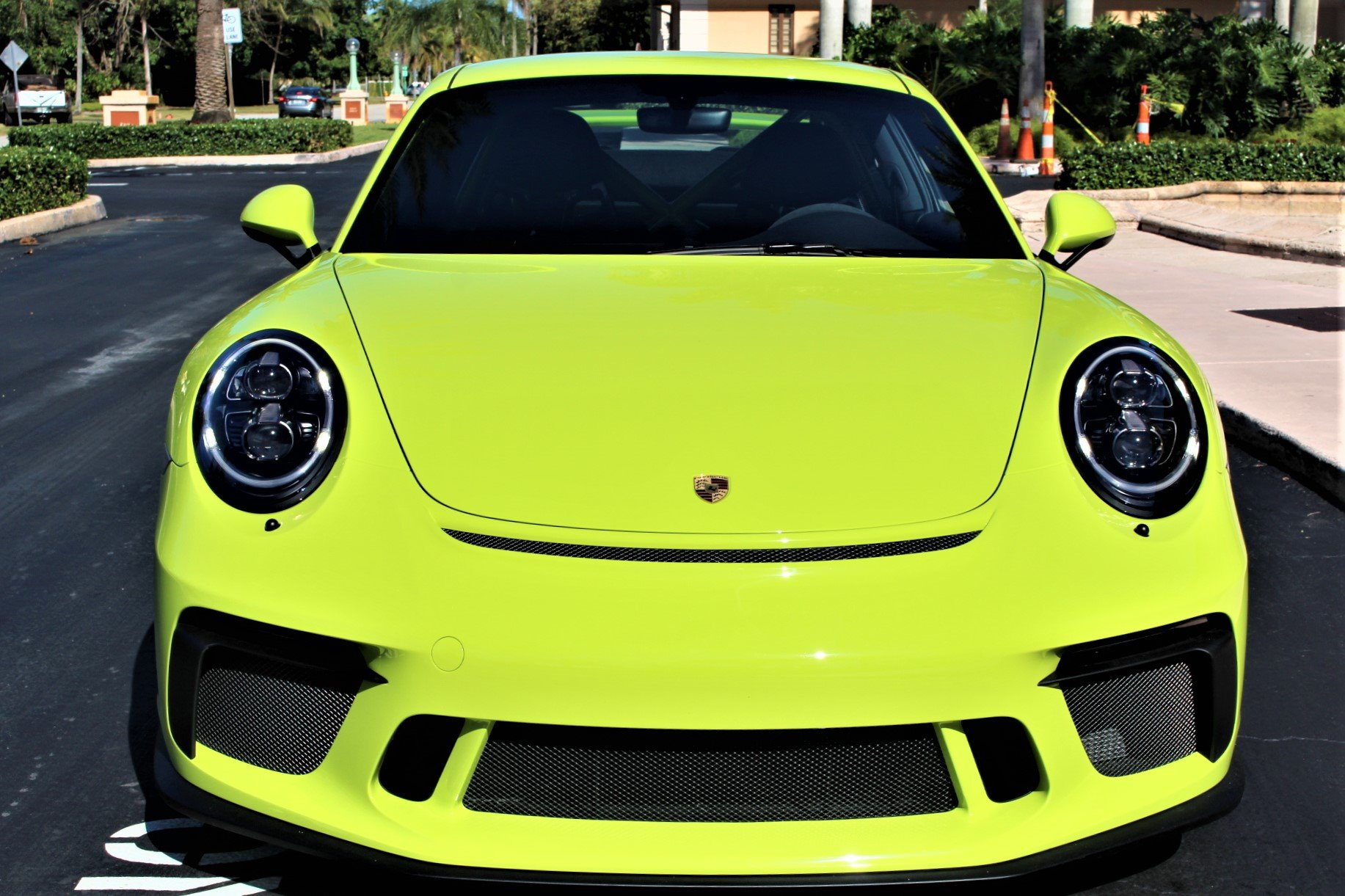 Used 2018 Porsche 911 GT3 for sale $169,850 at The Gables Sports Cars in Miami FL 33146 3