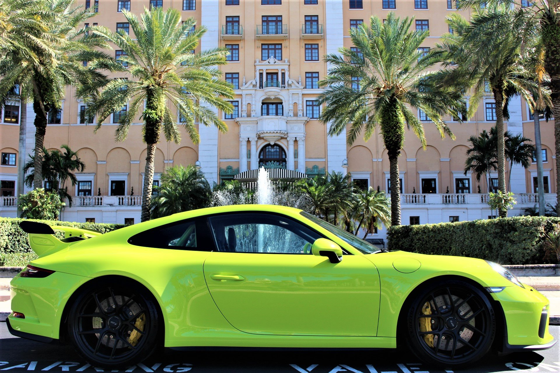Used 2018 Porsche 911 GT3 for sale $169,850 at The Gables Sports Cars in Miami FL 33146 1