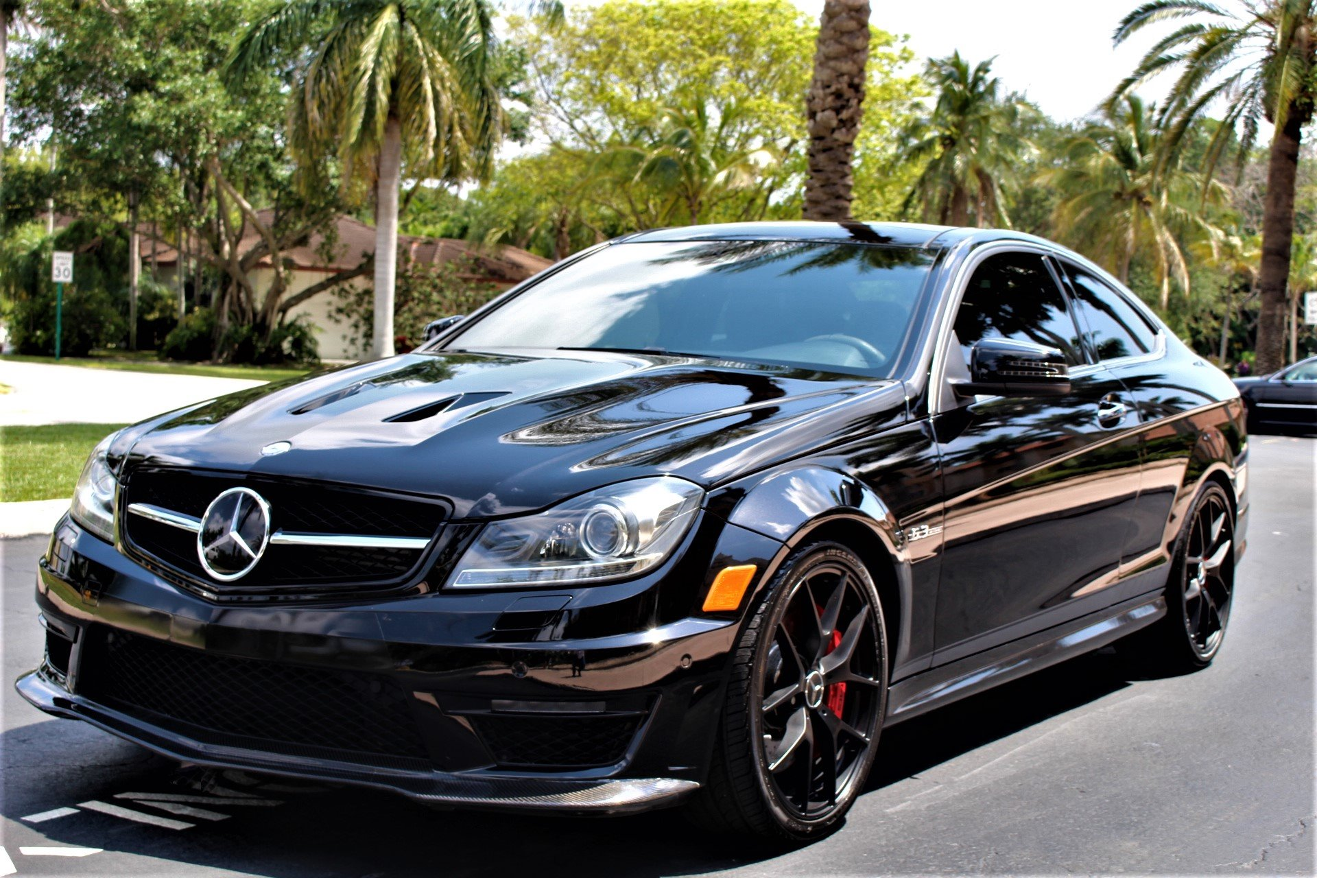 Used 2015 Mercedes-Benz C-Class 507 Edition C 63 AMG 507 Edition for sale Sold at The Gables Sports Cars in Miami FL 33146 4