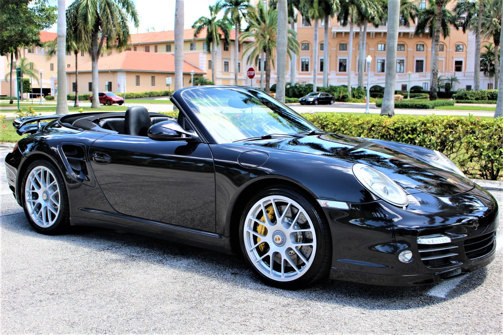 Used 2011 Porsche 911 Turbo S for sale Sold at The Gables Sports Cars in Miami FL 33146 3