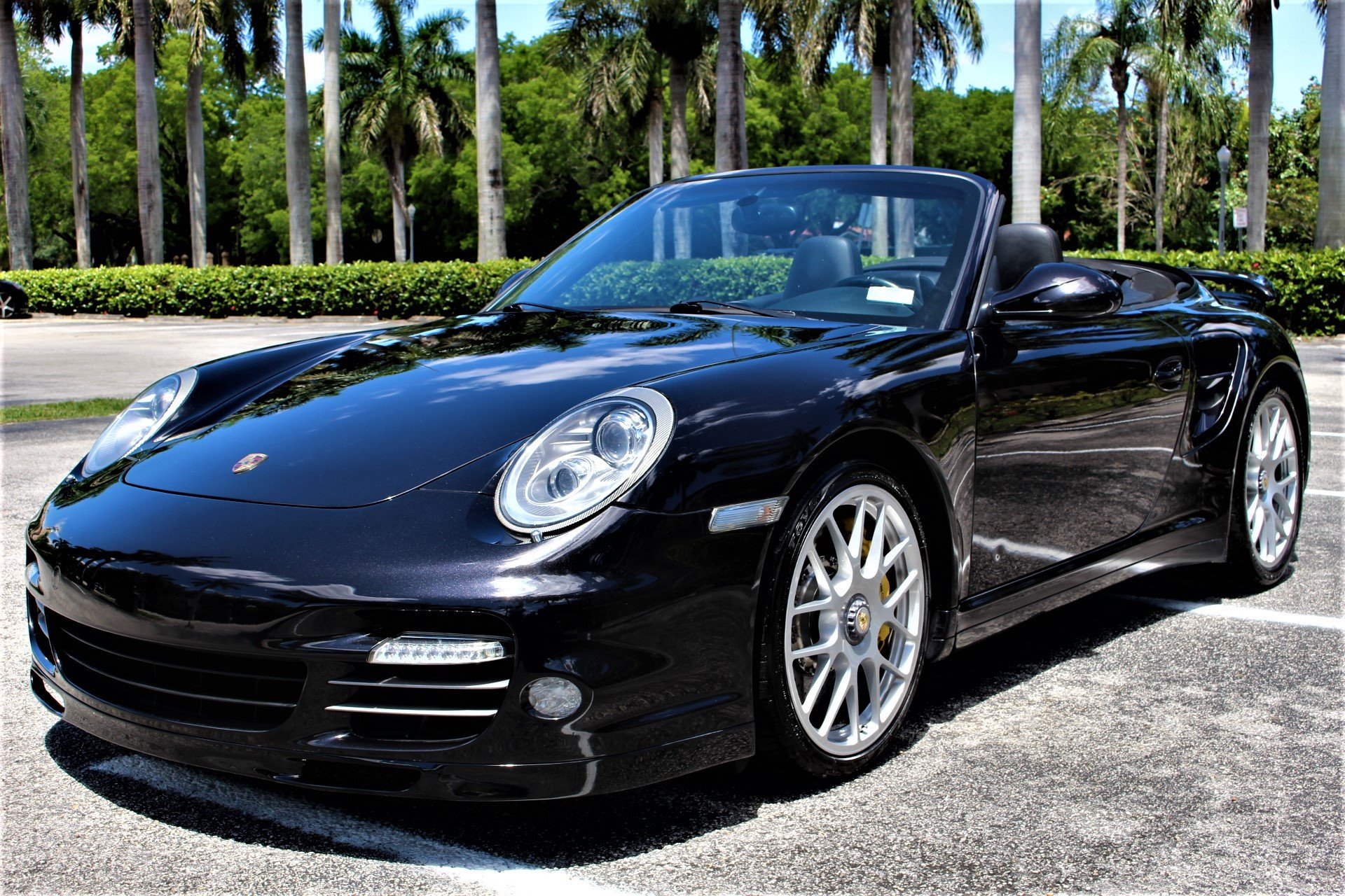 Used 2011 Porsche 911 Turbo S for sale Sold at The Gables Sports Cars in Miami FL 33146 4