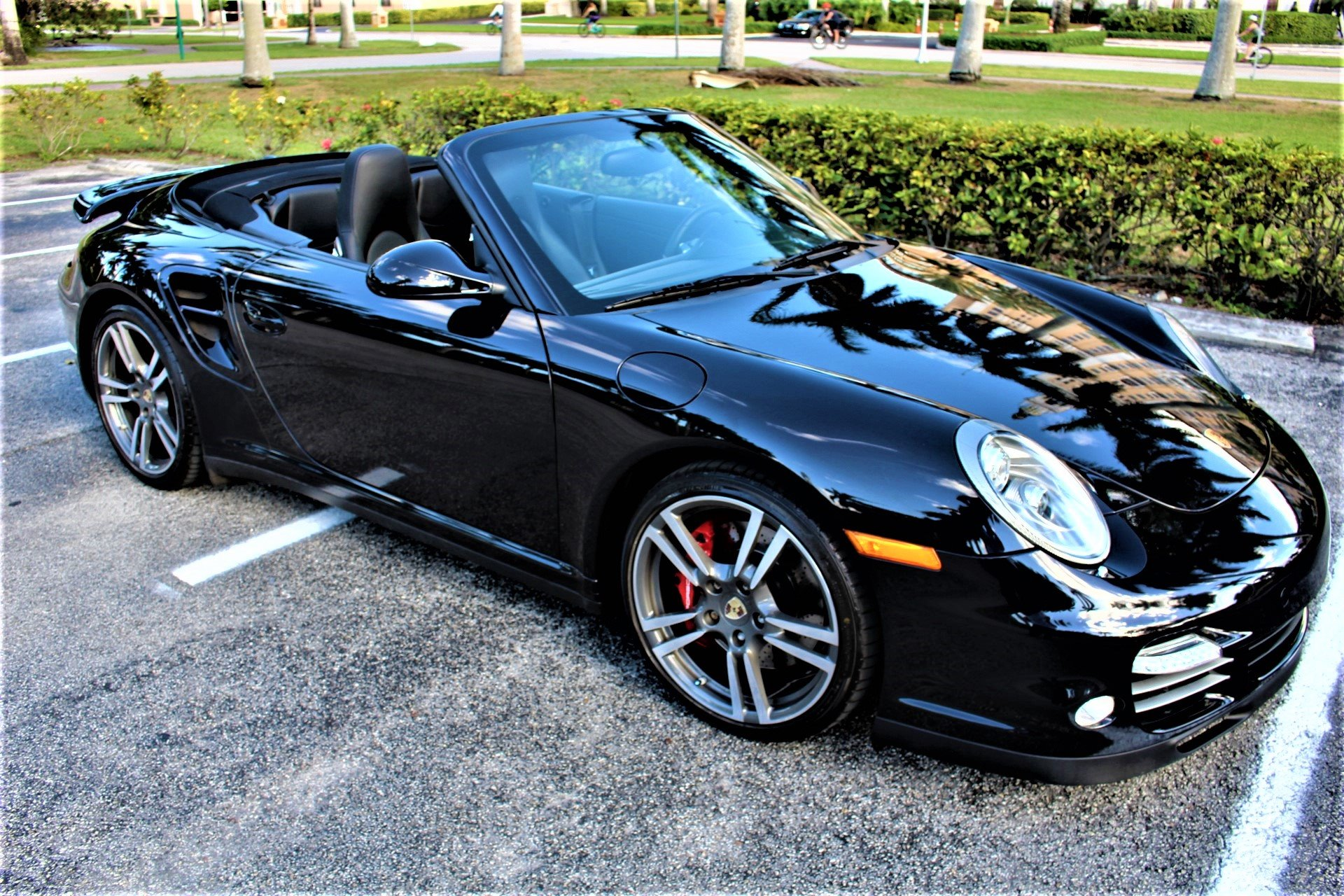 Used 2010 Porsche 911 Turbo for sale Sold at The Gables Sports Cars in Miami FL 33146 2