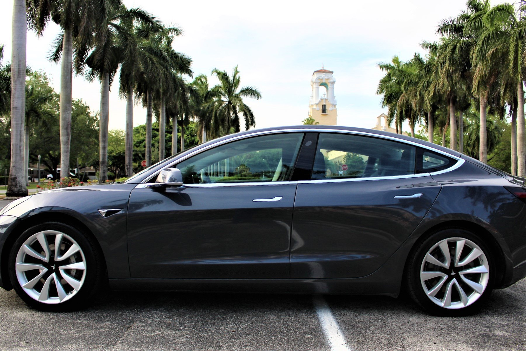 Used 2018 Tesla Model 3 Long Range for sale Sold at The Gables Sports Cars in Miami FL 33146 2