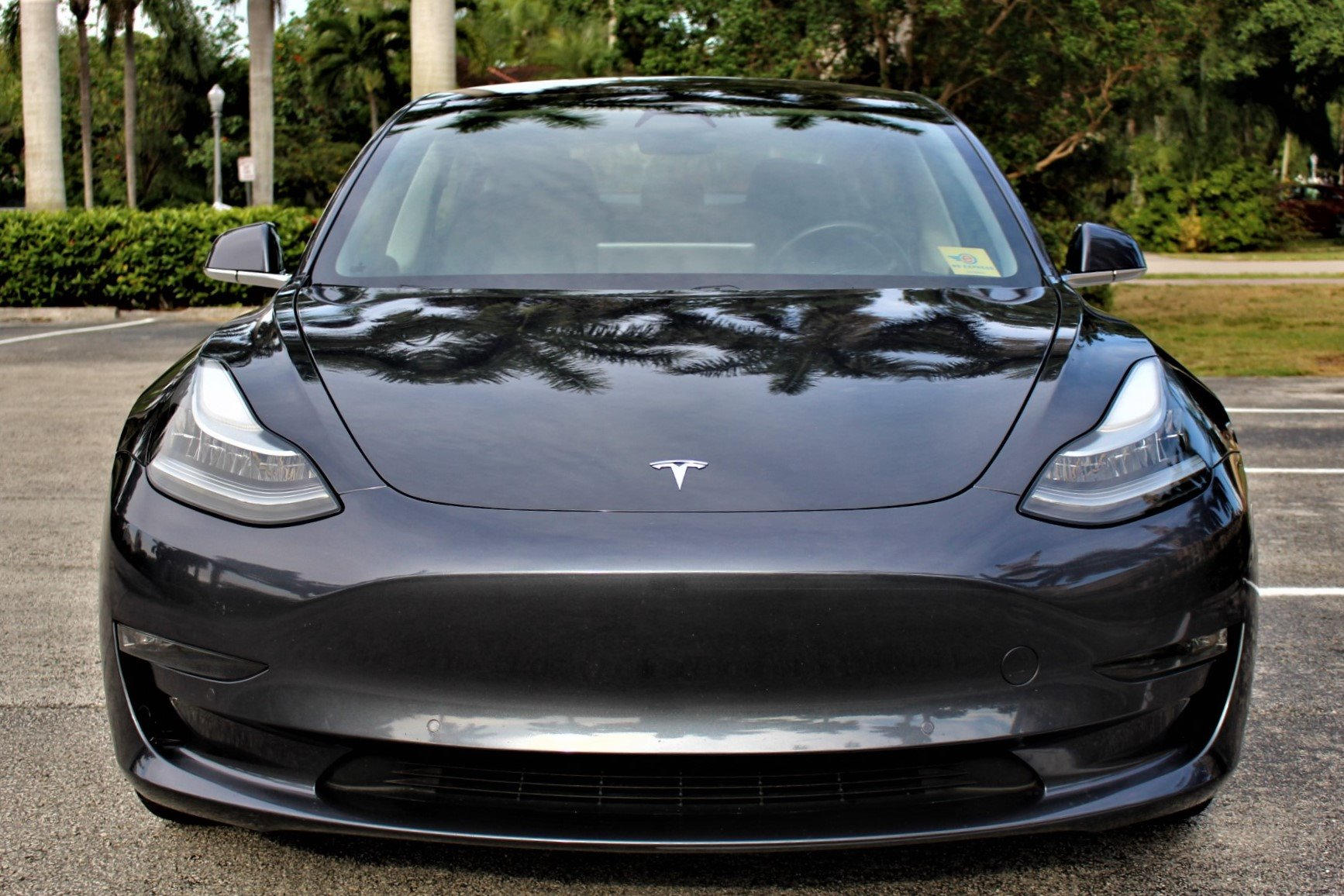 Used 2018 Tesla Model 3 Long Range for sale $37,850 at The Gables Sports Cars in Miami FL 33146 3
