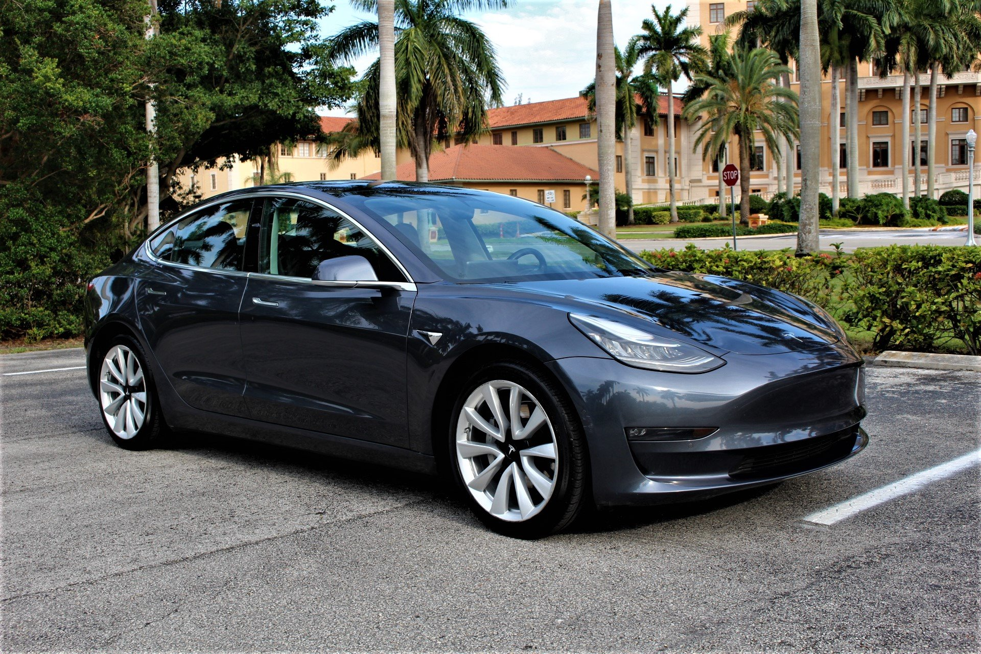 Used 2018 Tesla Model 3 Long Range for sale $37,850 at The Gables Sports Cars in Miami FL 33146 4