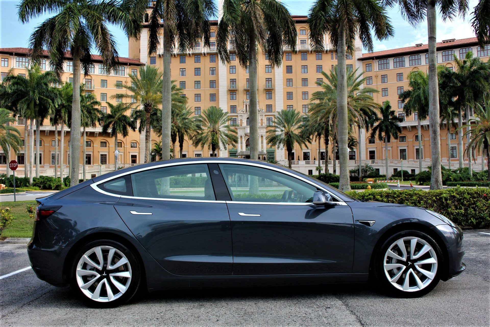 Used 2018 Tesla Model 3 Long Range for sale $37,850 at The Gables Sports Cars in Miami FL 33146 1