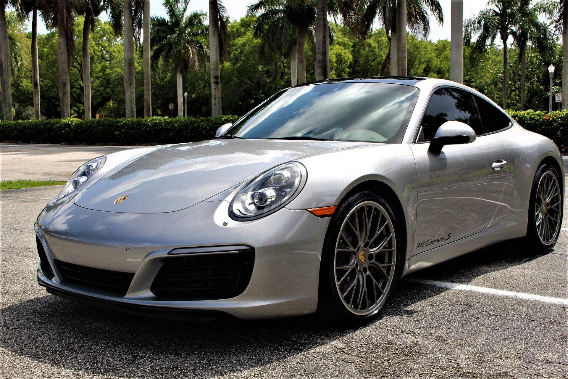 Used 2017 Porsche 911 Carrera for sale $69,850 at The Gables Sports Cars in Miami FL 33146 4