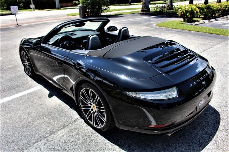 Used 2016 Porsche 911 Carrera Black Edition for sale $69,850 at The Gables Sports Cars in Miami FL