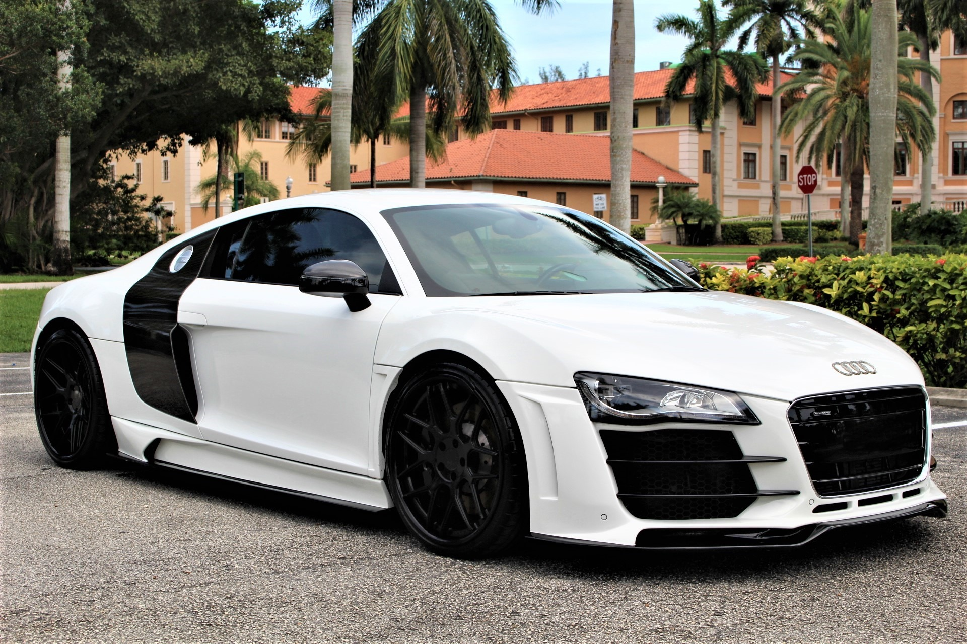 Used 2010 Audi R8 5.2 quattro for sale Sold at The Gables Sports Cars in Miami FL 33146 1