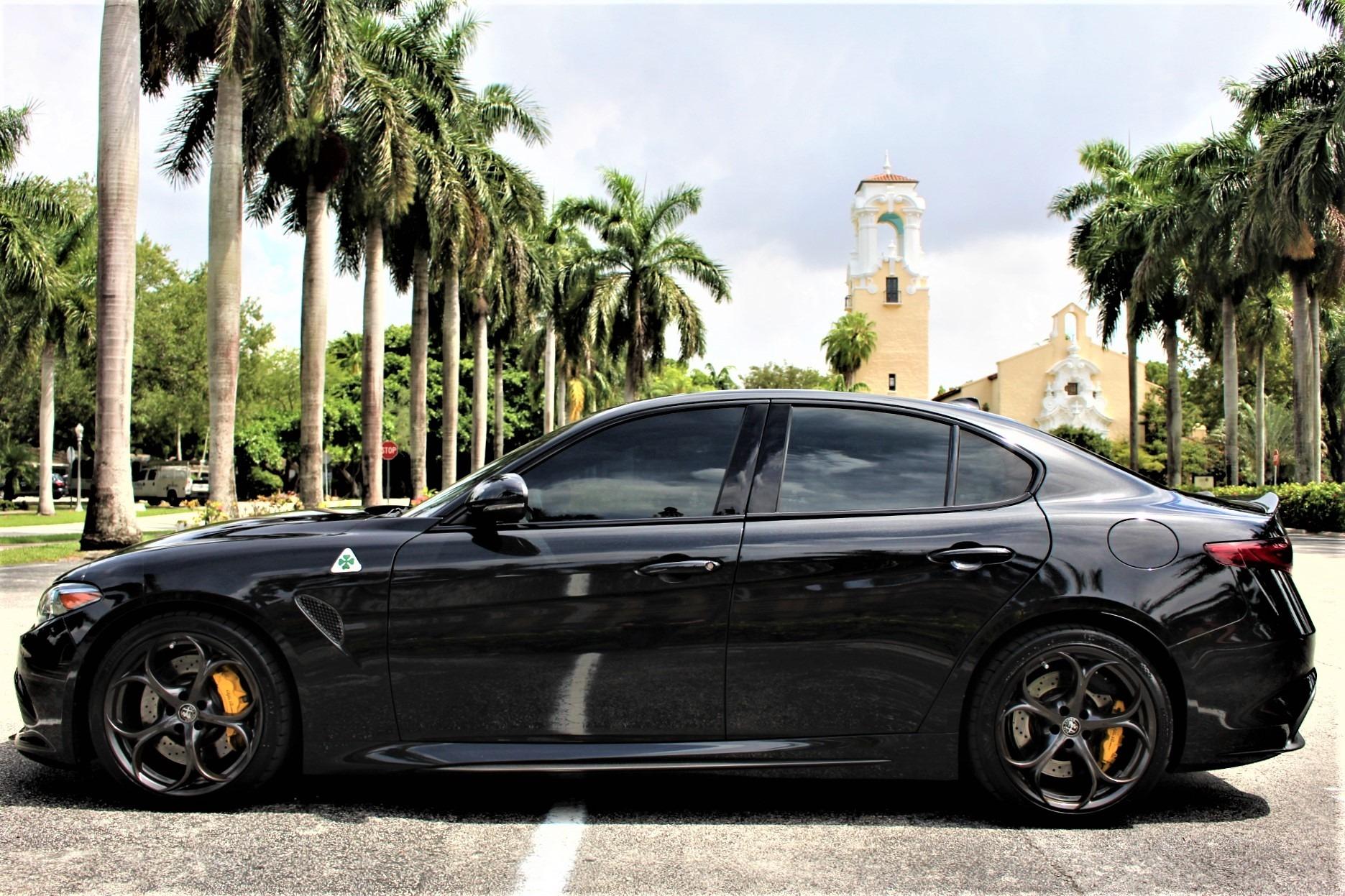 Used 2017 Alfa Romeo Giulia Quadrifoglio for sale Sold at The Gables Sports Cars in Miami FL 33146 2