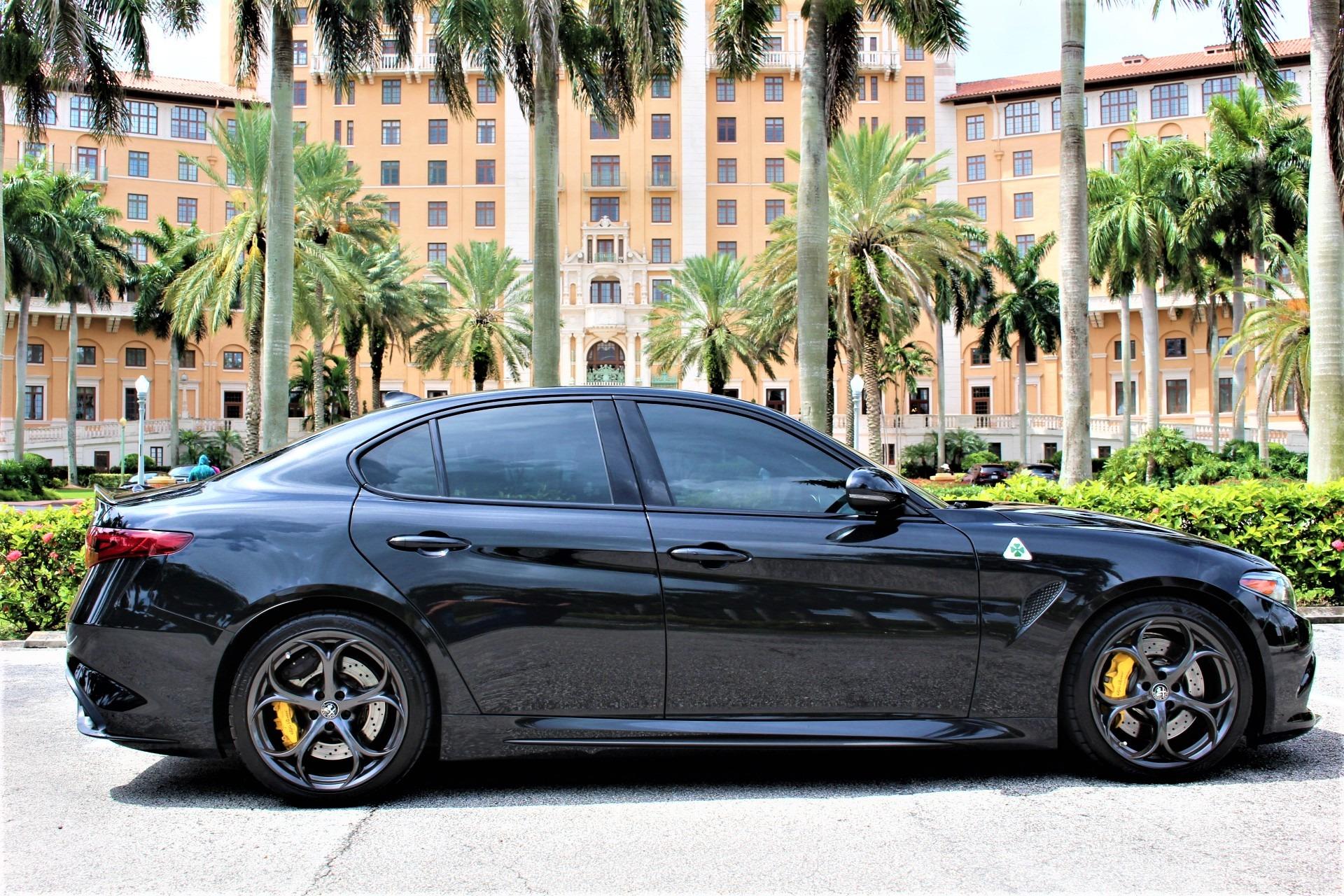 Used 2017 Alfa Romeo Giulia Quadrifoglio for sale Sold at The Gables Sports Cars in Miami FL 33146 1