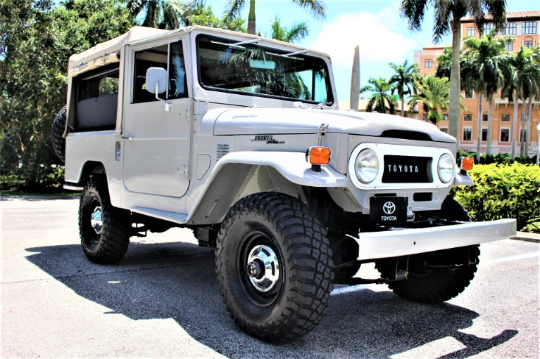 Used 1973 Toyota Land Cruiser FJ43 for sale $79,850 at The Gables Sports Cars in Miami FL